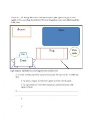 Spatial order essay definition