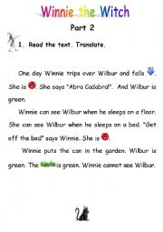 Winnie the Witch - Reading - Part 2