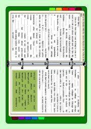 English Worksheet: Dear Diary (elementary)