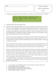 English Worksheet: robots