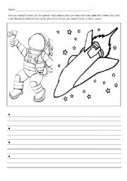 astronaut essay template - photo #3