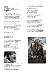 English Worksheet: Breath Of Life - Florence and The Machine