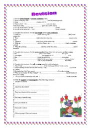 English Worksheets: Revision: different tenses