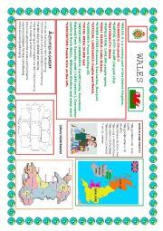Wales study sheet