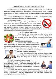 Cardiovascular diseases prevention
