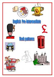 English Worksheet: Verb patterns 4 pages