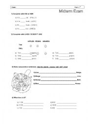 English Worksheet: Happy Street 2  Units 1-6