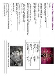 English Worksheet: Princess of China � Coldplay ft. Rihanna