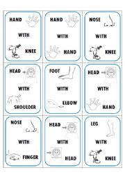 English Worksheets: TANGLED - CARDS GAME