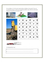 English Worksheets: Square of surprises