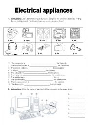 Electrical Appliances and Computer Parts