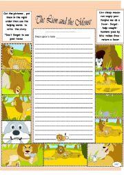 English Worksheet: story writing