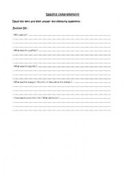 English Worksheets: Reading comprehension - Buffalo Bill
