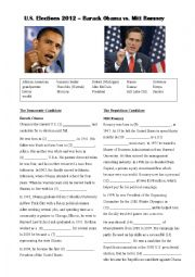 Obama vs Romney : US presidential election 2012