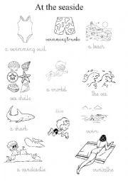 Summer holidays at the seaside esl worksheet by toyotka english worksheet summer holidays at the seaside ibookread Read Online