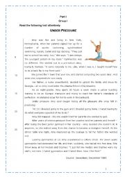 9th Grade Exam Esl Worksheet By Sucarv