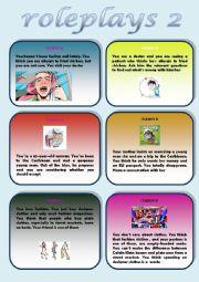 English Worksheet: Roleplays 2