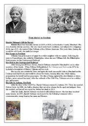Printables Harriet Tubman Worksheets english worksheet harriet tubman