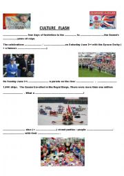 English Worksheets: the Queen�s Jubilee