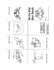 English Worksheets: Bat Book
