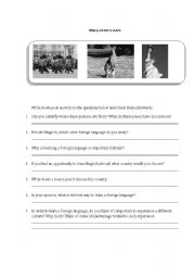 English Worksheets: Cultural Issues