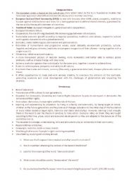 English Worksheet: EU - democratization and the aims of European Union