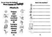 English Worksheets: journal booklet-part3