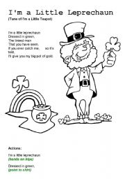 L is for Leprechaun Worksheet - Twisty Noodle