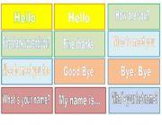 English Worksheets: Matching Greeting Cards