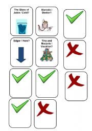 English Worksheets: Verb To Be - Making Questions. Negative and Afirmative 5/5