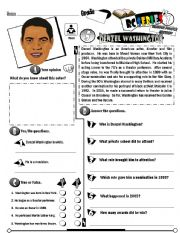 English Worksheet: RC Series Famous People Edition_05 Denzel Washington (Fully Editable) (RE-UP)