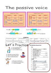 passive voice english grammar exercises pdf
