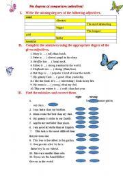 degrees of comparison part 1