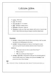 elementary lesson plan formats