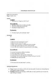 English Worksheet: traffic rules (MUST) lesson plan