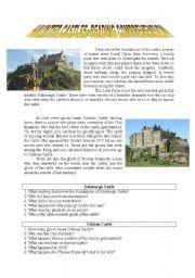 Haunted Castle~Reading Comprehension