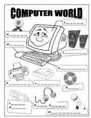 English Worksheet: Computer World