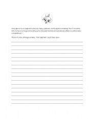 English Worksheets: once upon
