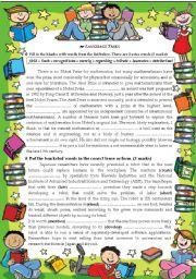 English Worksheets: Language Tasks