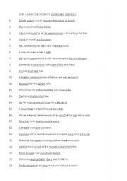 English Worksheets: Straightforward Intermediate Unit 1 Worksheet: Make questions to underlined words