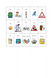 English Worksheets: Verbs - actions