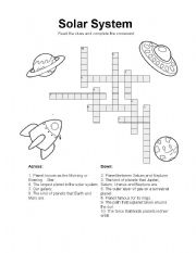 solar system crossword answers - photo #20