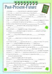 99 sentences/part 1 (past-present-future)