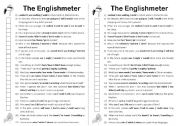 English Worksheets: The Englishmeter