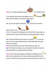 English Worksheets: Conversatin 1: Greeting People - page 2