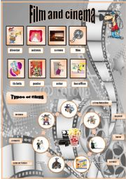 English Worksheet: Film and cinema