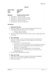 English worksheet: Carnival