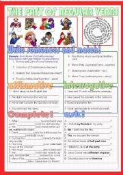 English Worksheet: The past of regular verbs