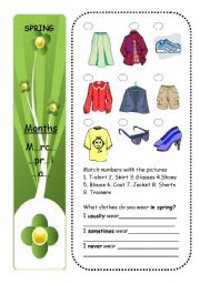 CLOTHES + SEASONS (part 3/4)
