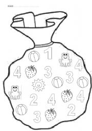 Numbers and colours for very young learners